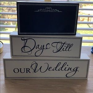 Other - Wedding day countdown decoration